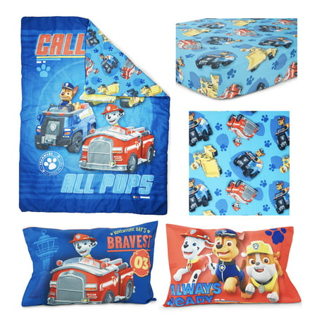 Paw Patrol Calling All Pups 4 pc Toddler Bed - Mermaids Toddler Bed Set