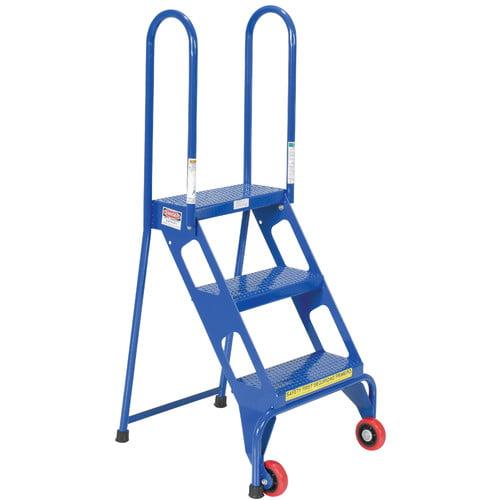 Vestil 4 ft Steel Rolling Ladder by Vestil