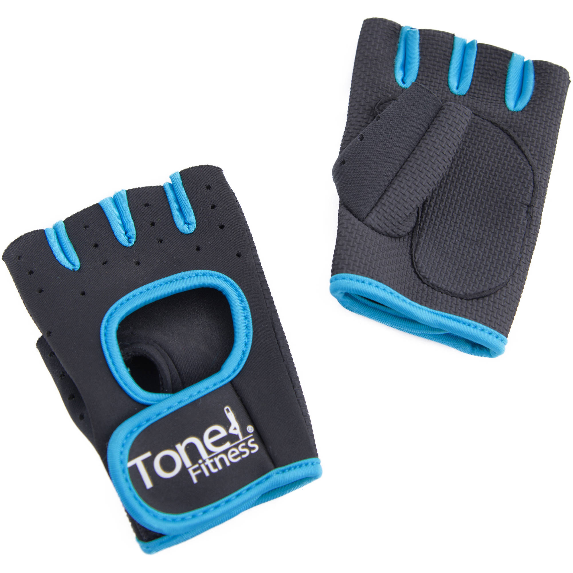 Tone Fitness Weight Gloves, Teal
