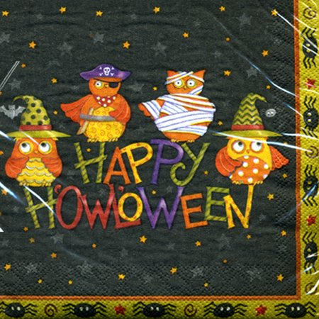 Halloween 'Costume Owls' Lunch Napkins (16ct)