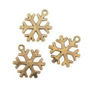 IN-13750902 Snowflake Charm Per Dozen