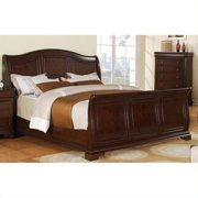 Picket House Furnishings Cameron Sleigh Bed in Cherry-Queen