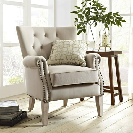 Better Homes and Gardens Rolled Arm Accent Chair, Multiple Colors ...