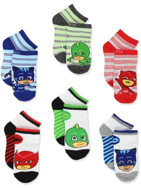 PJ Masks Boys Girls 6 pack Quarter Style Socks Set PJ062BQS