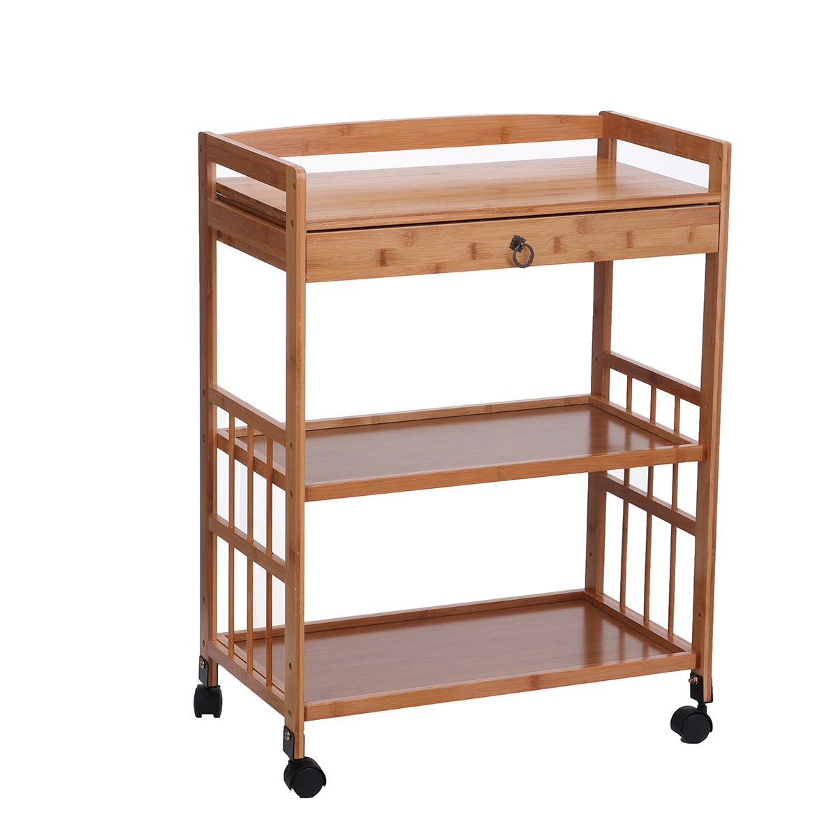 Kitchen Cart On Wheels For Chefs Outdoor Coffee Wine And Food Microwave Cart Kitchen Island On Wheels Rolling Cart Kitchen Appliance Utility Cart Walmart Com Walmart Com