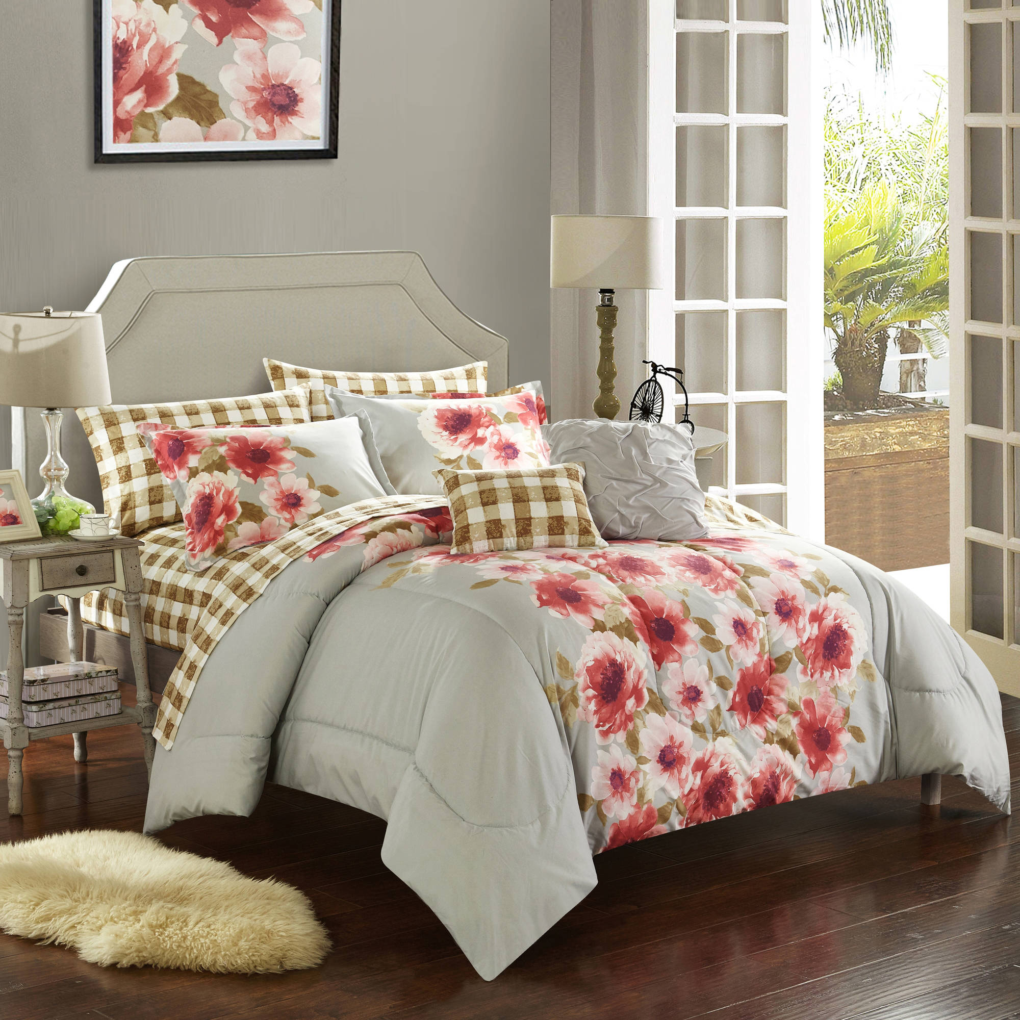 Casa Georgina Floral Bed-in-a-Bag Set