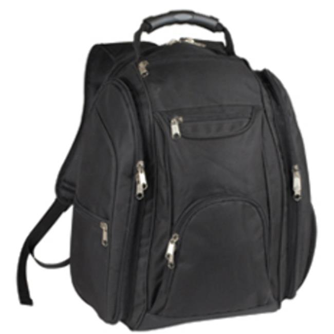 DDI 1483532 Exihibition Compu Backpack-Black Case Of 8