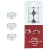 Unscented Tea Light Candles - White (72 Units Included)