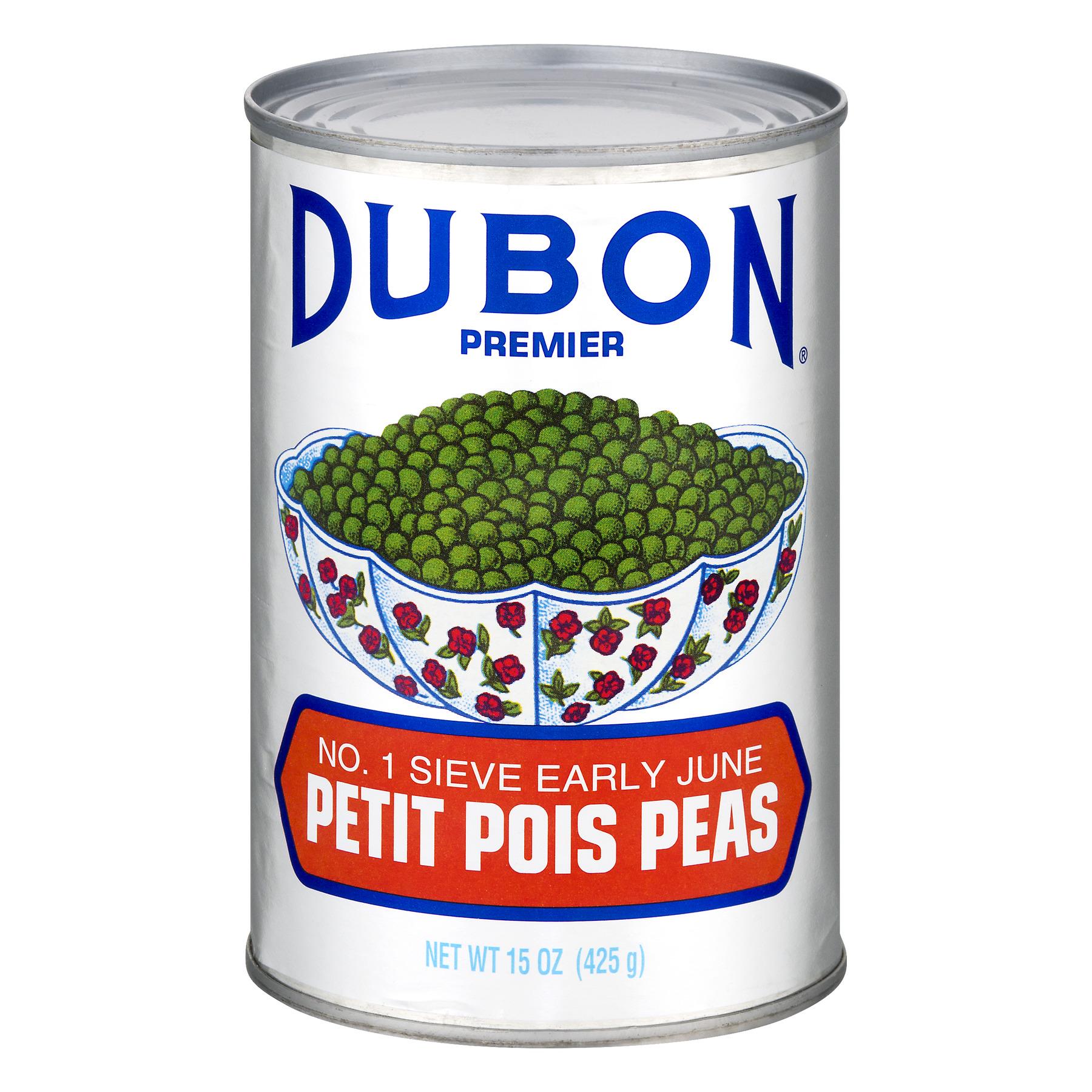 (3 Pack) Dubon Premier Petit Pois Peas, 15 oz