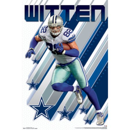 jason witten dallas cowboys nfl football sports poster 22x34. Black Bedroom Furniture Sets. Home Design Ideas