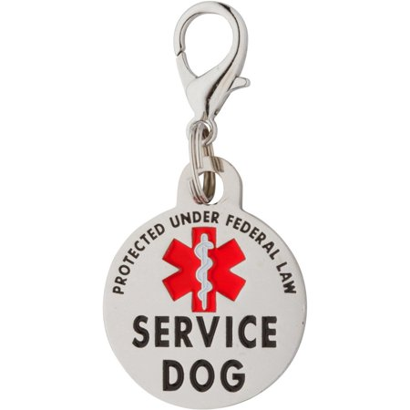 - Double Sided Service Dog Small Breed Federal Protection Tag