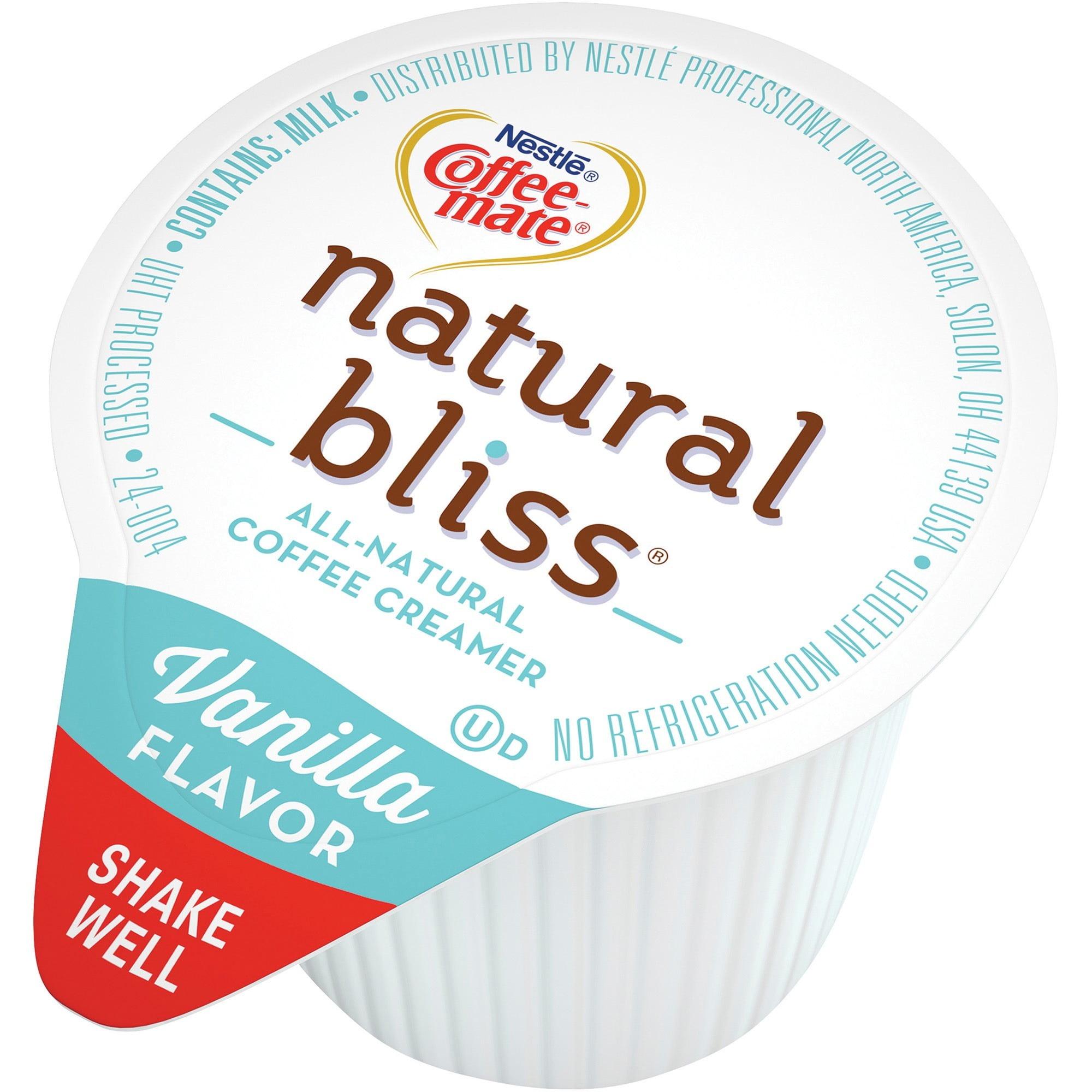 Nestlé Coffee-mate Vanilla Natural Bliss 180 ct box creamers