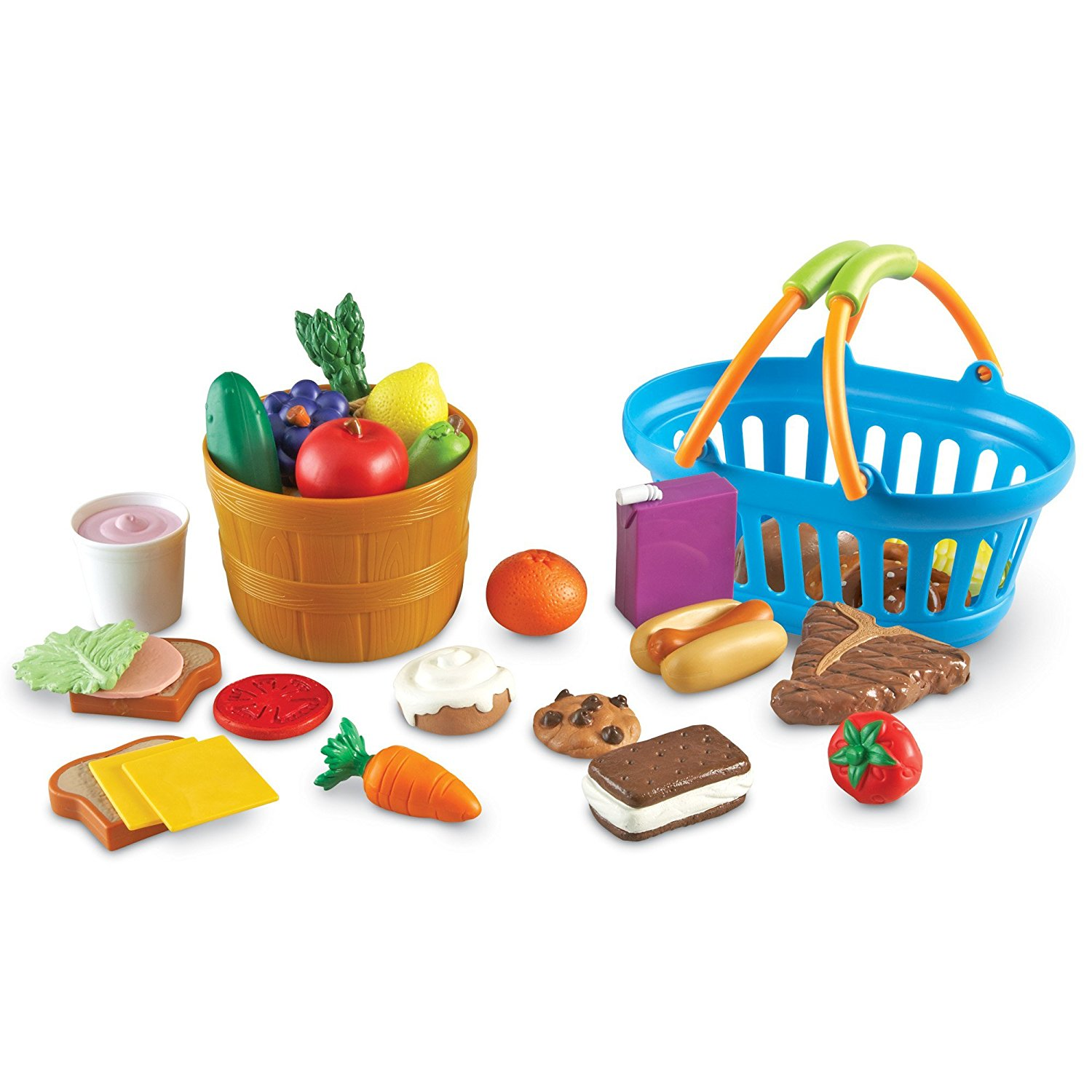 Learning Resources New Sprouts Deluxe Market Set, Ages 2 and up