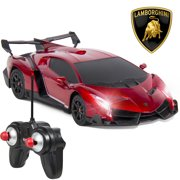 Best Choice Products 1 24 Officially Licensed Rc Lamborghini Veneno Sport Racing Car W