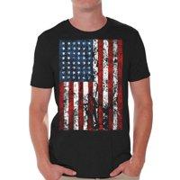 24bb382c61368 Product Image Awkward Styles American Flag Distressed T Shirts for Men USA  Shirt USA Flag Men s Tshirt Tops