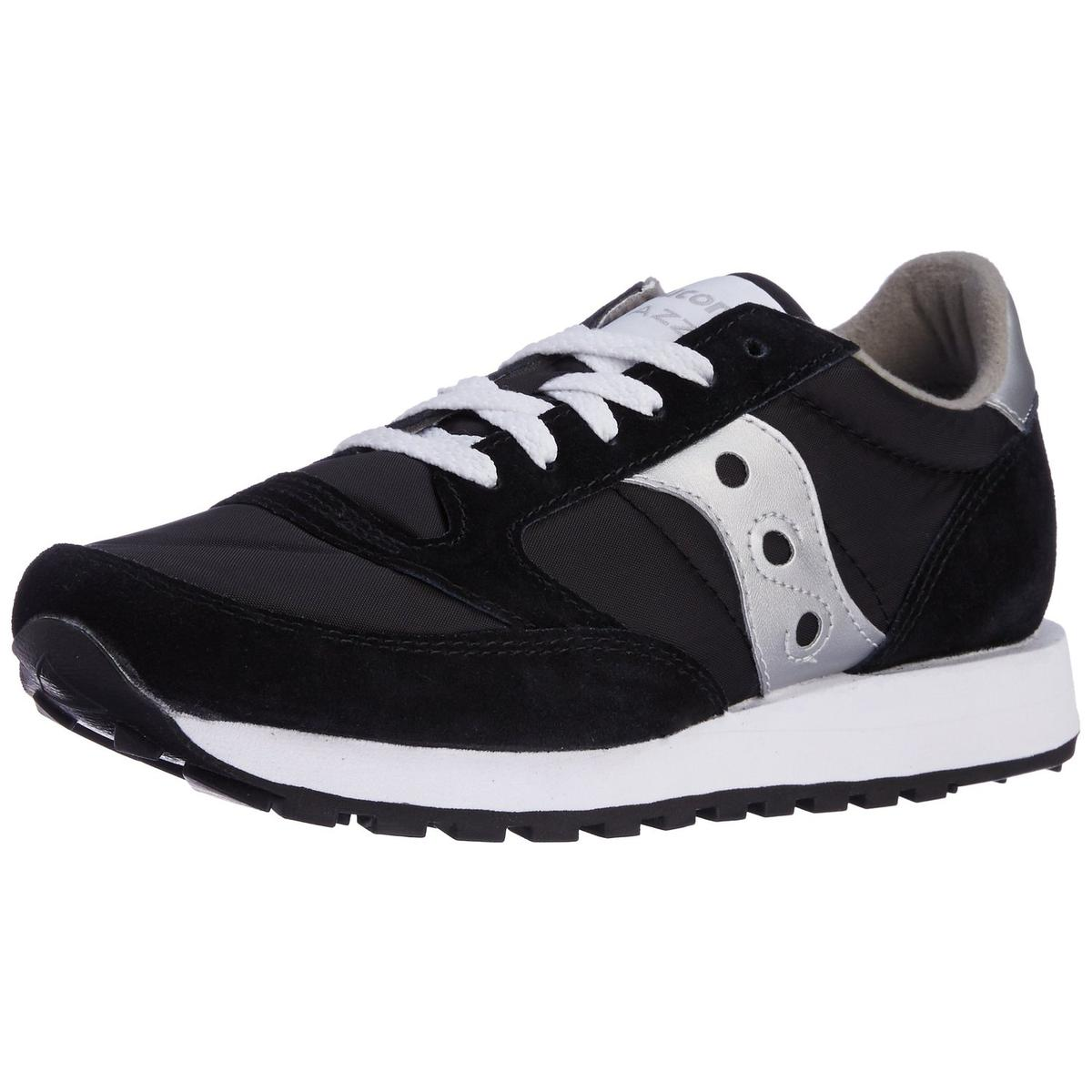 Saucony Jazz Original Mens Silver Black Sneakers by Saucony