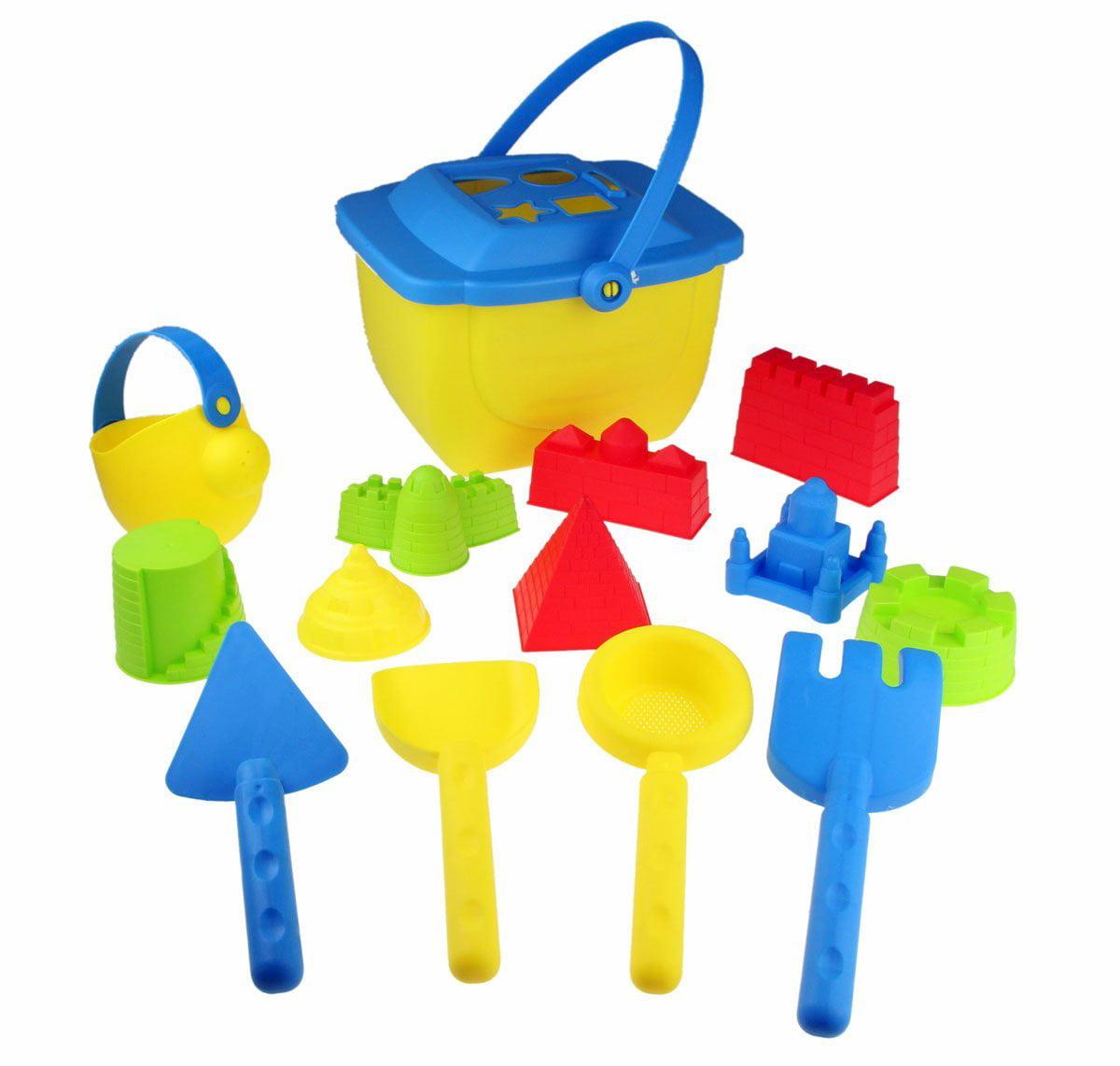 15-Pieces Beach Sand Toys Set for Boys by Bo-Toys