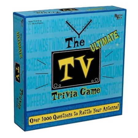 The Ultimate TV Trivia Game, Based on TV shows past and present By University Games - Halloween Tv Show Trivia