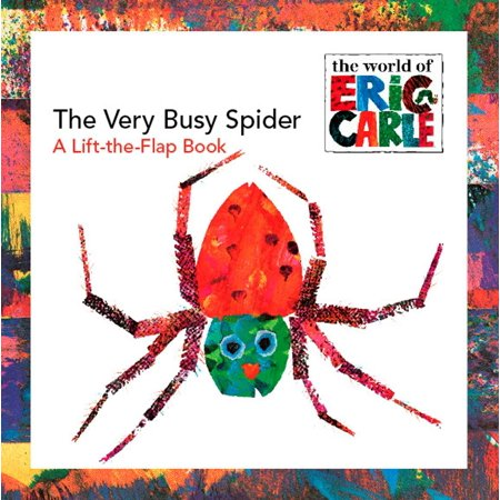 The Very Busy Spider: A Lift-The-Flap Book (Paperback) Childrens Busy Book