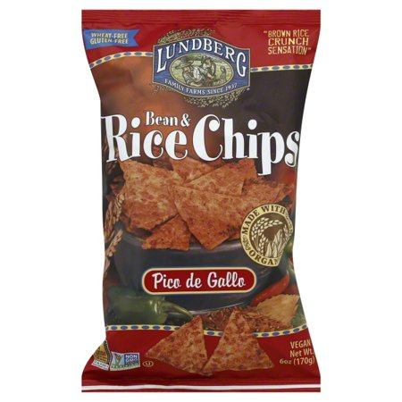 Farm Chip - Lundberg Family Farms Lundberg  Bean & Rice Chips, 6 oz