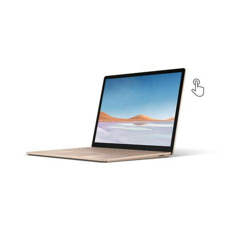 "Microsoft Surface Laptop 3, 13.5"" Touch-Screen, Intel Core i5-1035G7, 8GB Memory, 256GB SSD, Iris Plus Graphics 950, Windows 10 Home, Sandstone, V4C-00064"