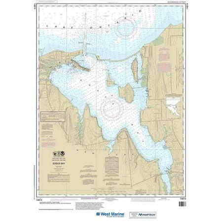 4aebbac28942 NOAA Chart 14814 Sodus Bay: 37.95