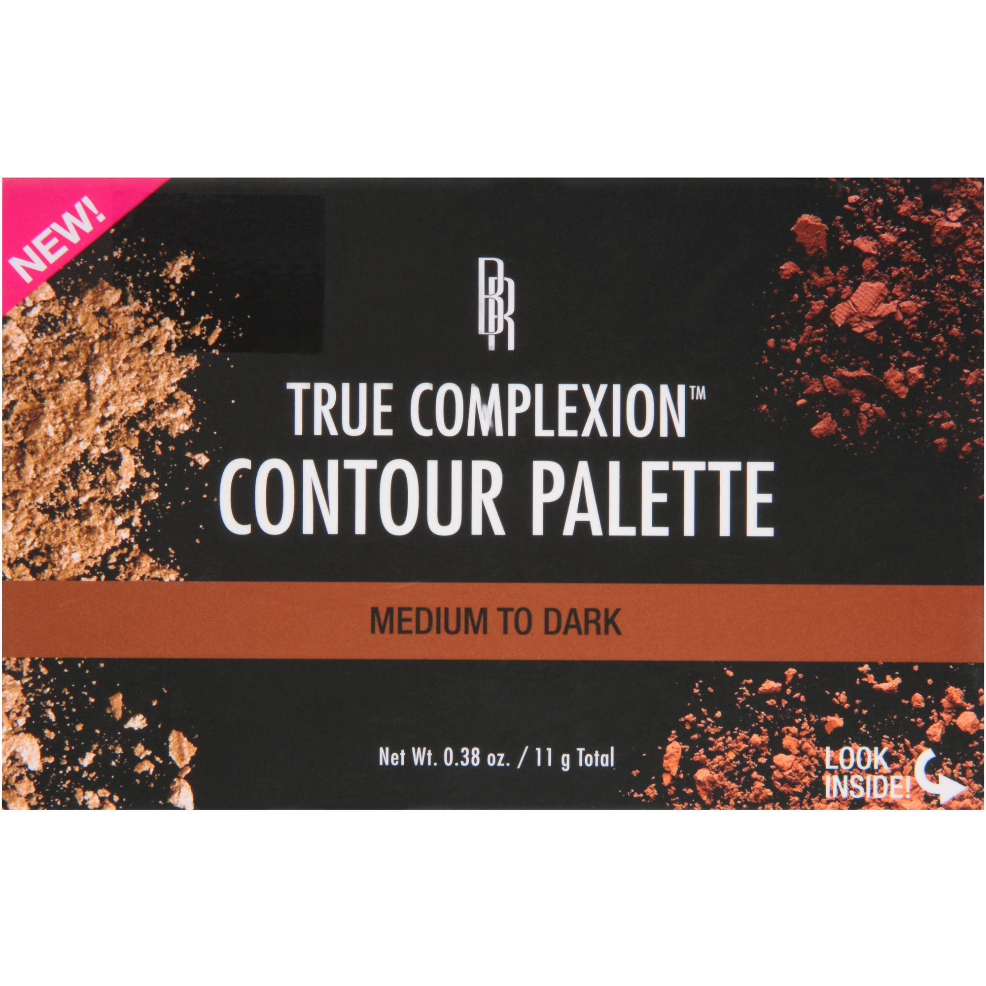 Black Radiance True Complexion Contour Palette, Medium to Dark, 0.38 oz
