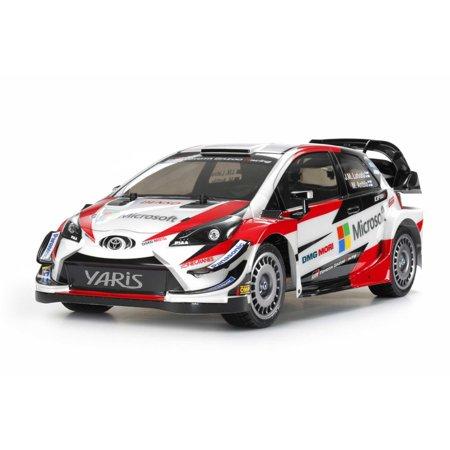 Tamiya America, Inc 1/10 Toyota GAZOO Racing WRT Yaris WRC TT-02 4WD Kit,