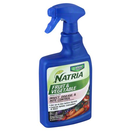 - Natria Fruit & Vegetable Insect, Disease, & Mite Control, 24 fl oz