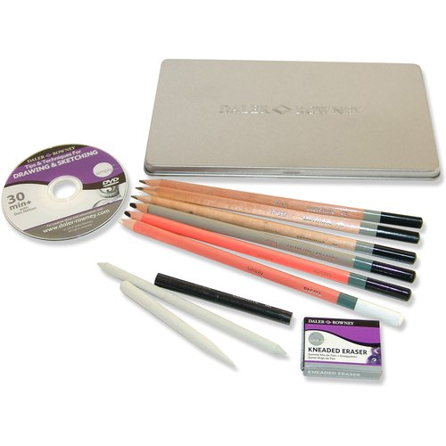 Simply Drawing Tin Set, 13pk