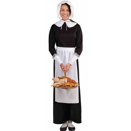 Pilgrim Early American Womens Costume Accessory Kit F65720 - Woman Pilgrim Costume