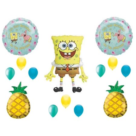 SpongeBob Squarepants Birthday Party Balloons Decoration Supplies pineapple - Bomb Party