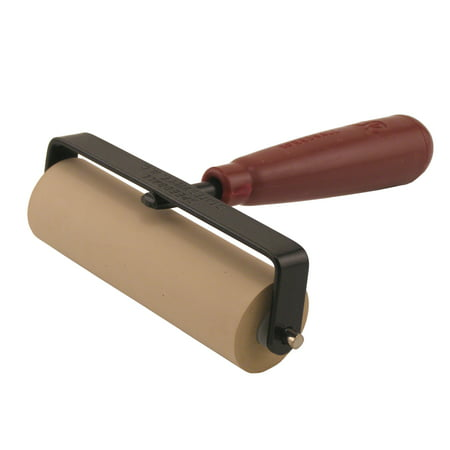Speedball Deluxe Soft Rubber Brayer, 4in, No. 64
