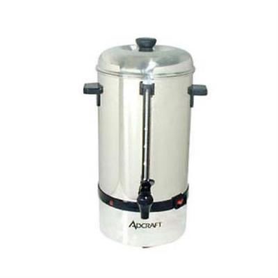 - Admiral Craft CP-40 Coffee Percolator, 40 cup capacity, automatic temp.