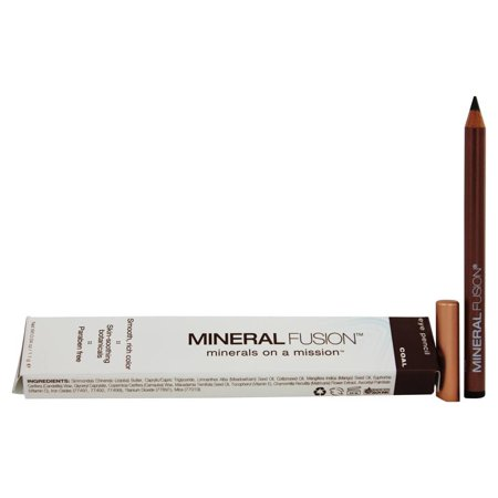 Mineral Fusion   Eyes Eye Pencil Coal   0 04 Oz