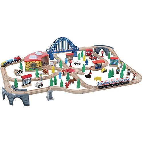 Train Set, 120 Pieces