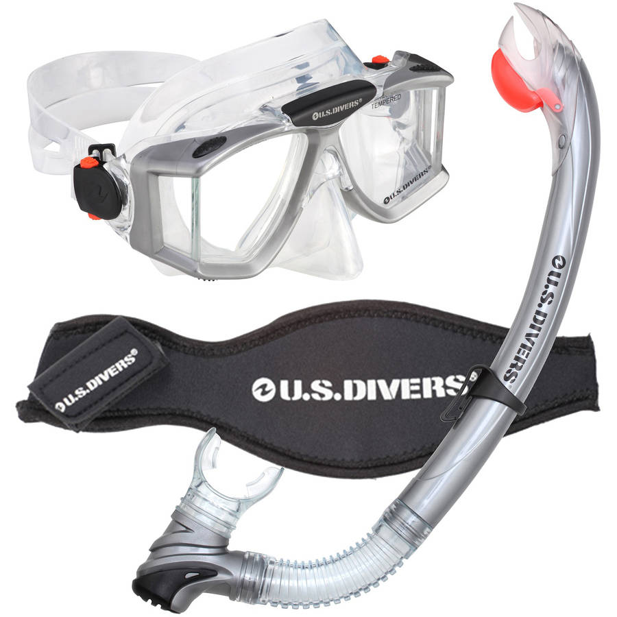 US Divers Sideview Snorkeling Mask