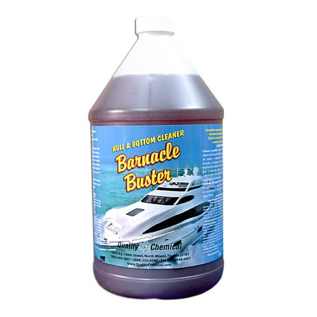 Barnacle Buster Concentrated Barnacle Marine Growth Remover - 1 gallon (128 (Best Chemical Paint Remover)