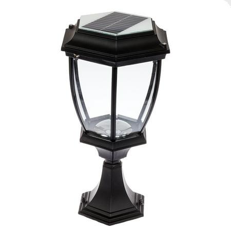 Solar 12 Led Outdoor Garden Lamp Column Post Topper