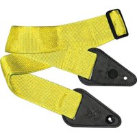Clayton ILSY Inner-Lock Guitar Strap, Yellow