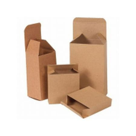 Box Packaging Reverse Tuck Folding Carton, 250/Case