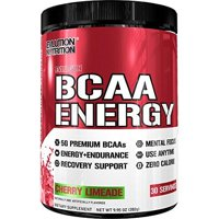 Evlution Nutrition BCAA Energy Powder, Cherry Limeade, 30 Servings