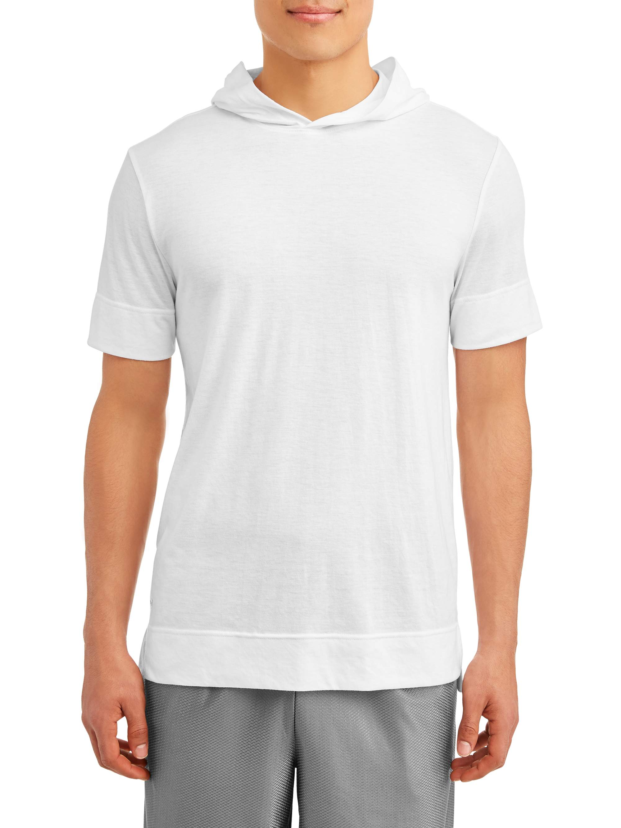 Russell Exclusive Big Men's Short Sleeve Hooded Top