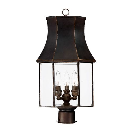 "Image of Acclaim Lighting 8807 Lincoln 3 Light 21.75"" Height Post Light"