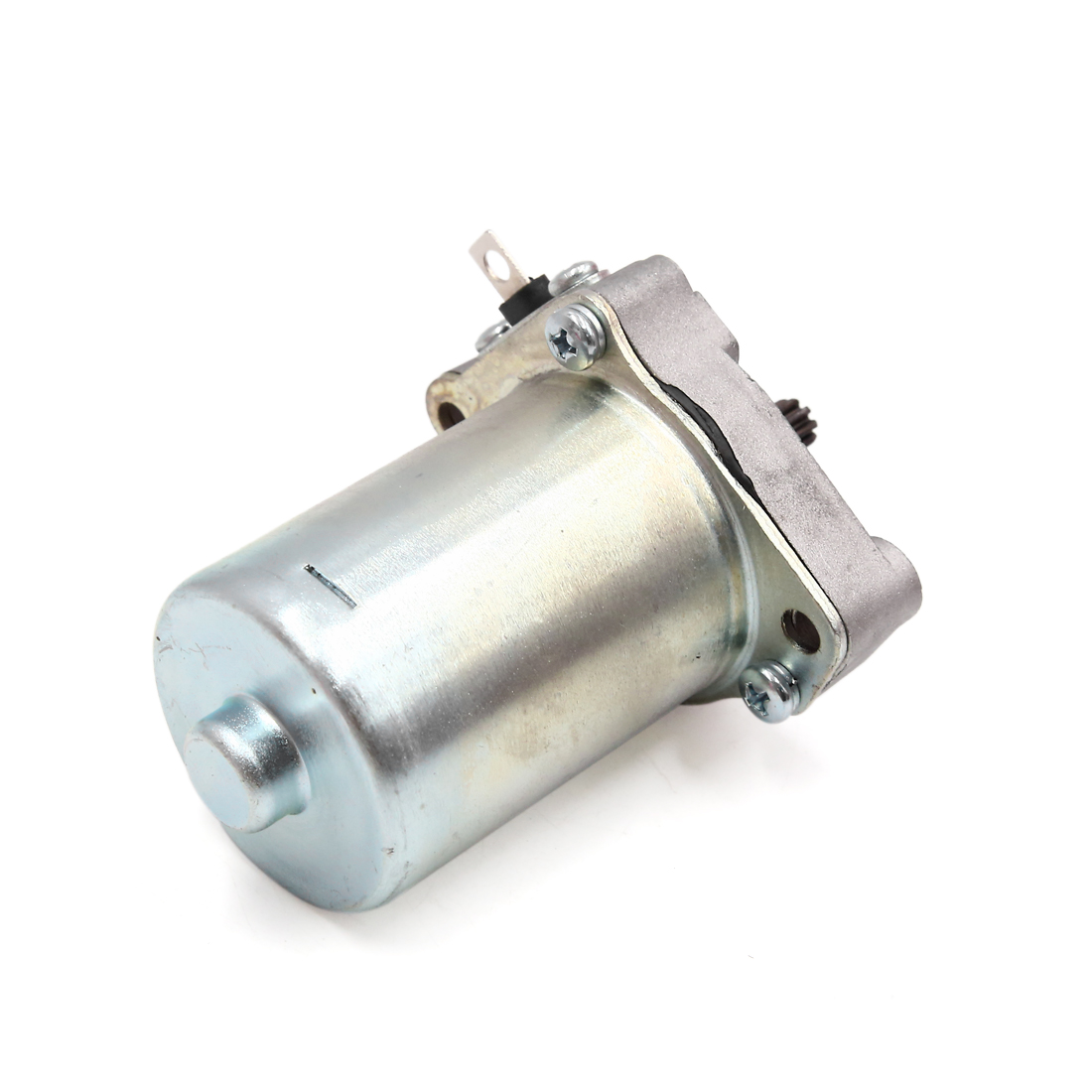 Silver Tone Metal Motorcycle Motorbike Engine Power Starter Motor for WH-100 - image 3 of 3