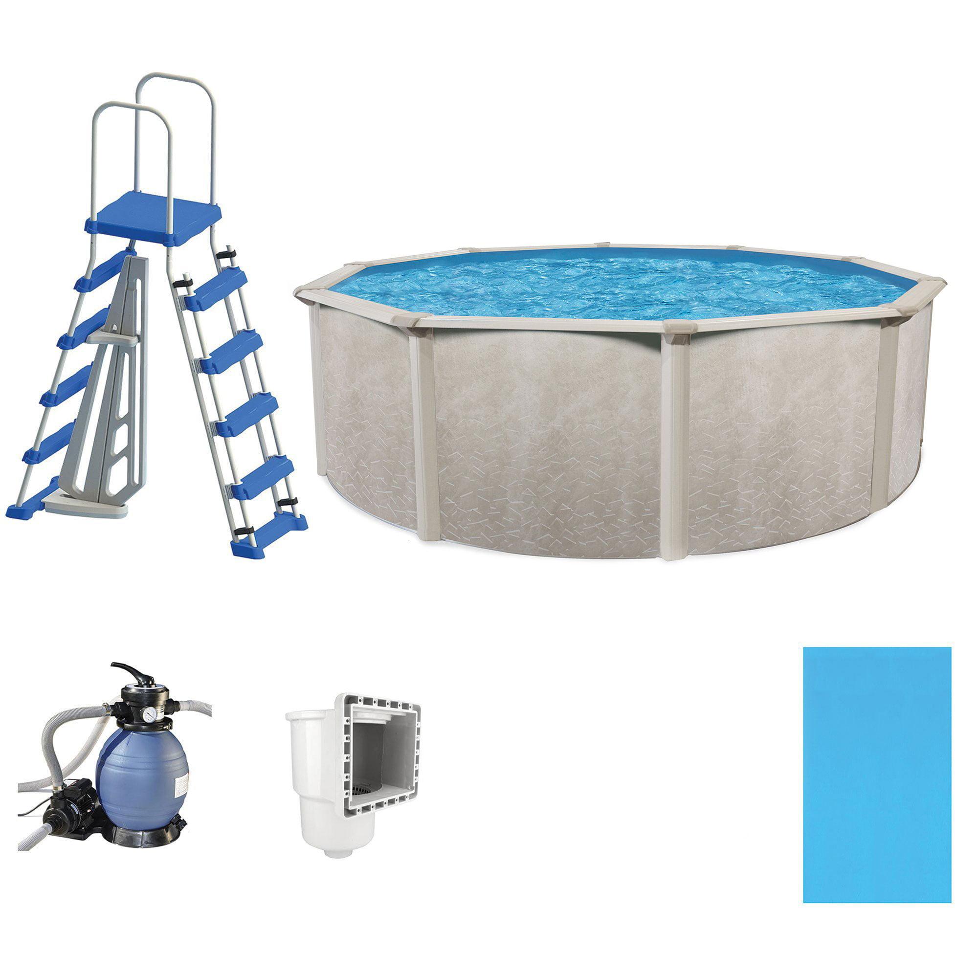 Cornelius pools phoenix 21 39 x 52 frame above ground pool for Garden swimming pool kits