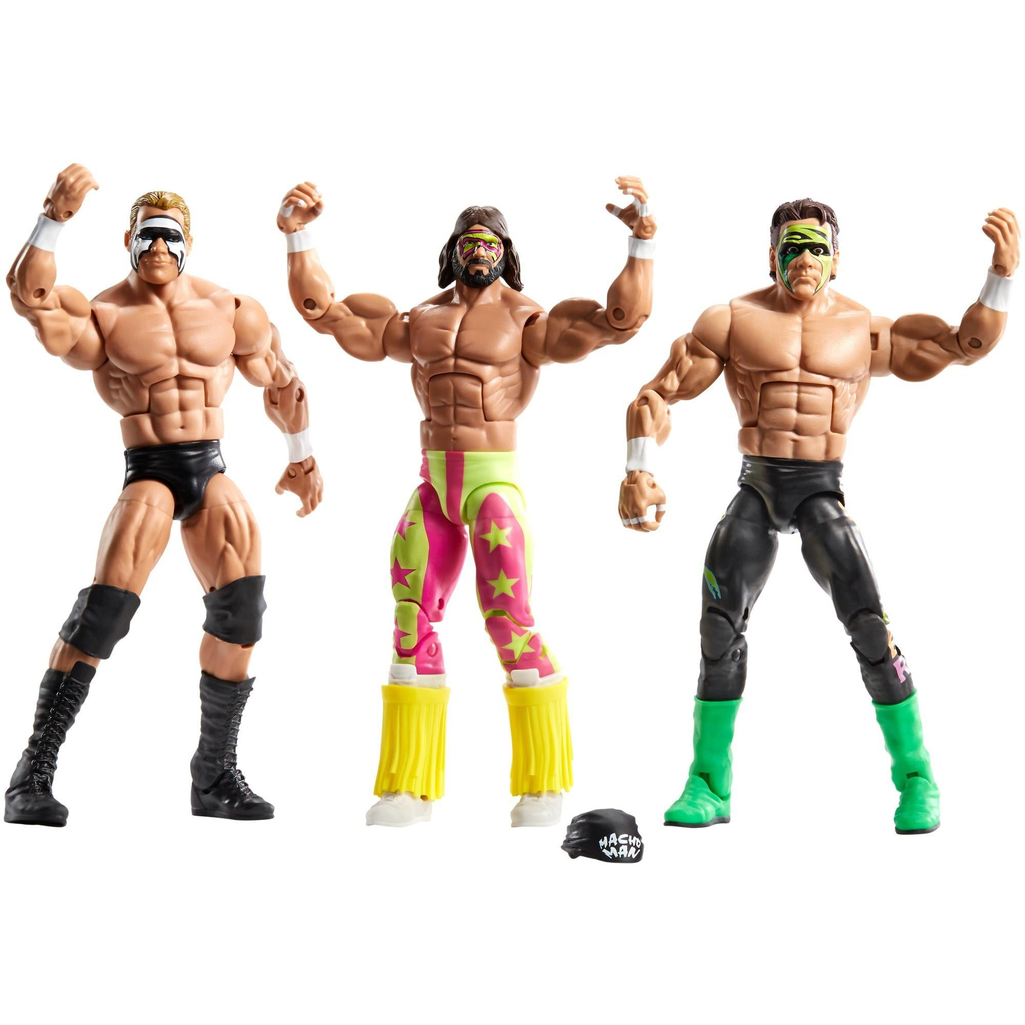 WWE Then, Now & Forever Bash At The Beach 3-Pack by Mattel