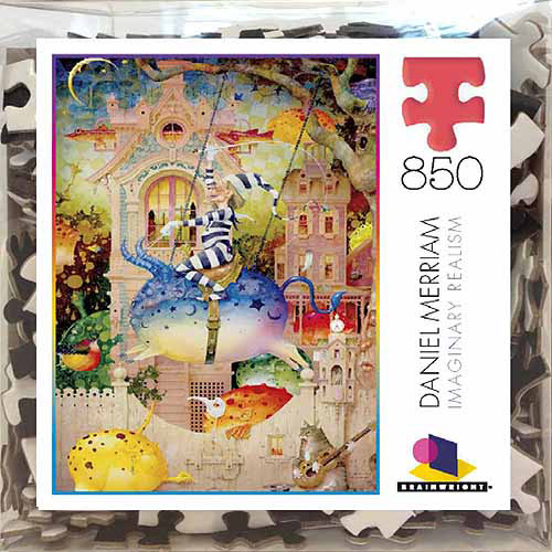 Ceaco/Brainwright Daniel Merriam Handle On Rejection Deluxe Puzzle, 850 pieces