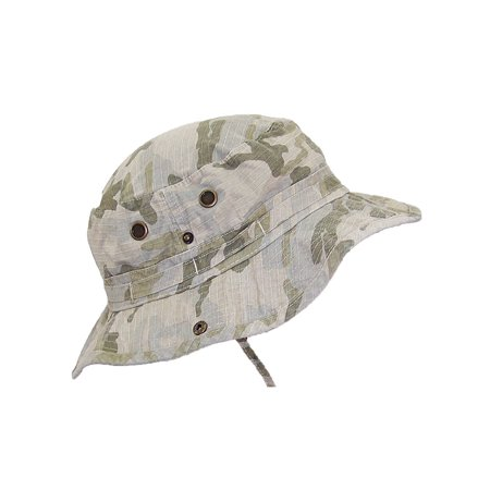 MG Camo Ripstop Floppy/Bucket Summer Hat W/Snap Up Sides](Mg Hats)