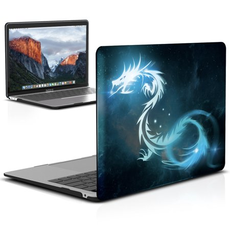separation shoes 9320a 58e17 New Macbook Air 13 Inch Case A1932 2018 Release, iBenzer Soft Touch Hard  Case Shell Cover for Apple MacBook Air 13'' Retina with Touch ID, Dragon